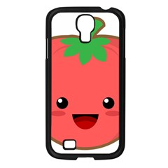 Kawaii Tomato Samsung Galaxy S4 I9500/ I9505 Case (black) by KawaiiKawaii