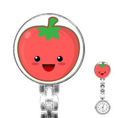 Kawaii Tomato Stainless Steel Nurses Watches by KawaiiKawaii