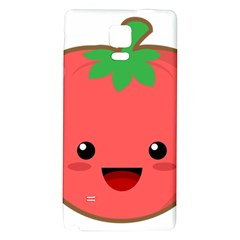 Kawaii Tomato Galaxy Note 4 Back Case by KawaiiKawaii