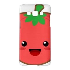 Kawaii Tomato Samsung Galaxy A5 Hardshell Case  by KawaiiKawaii