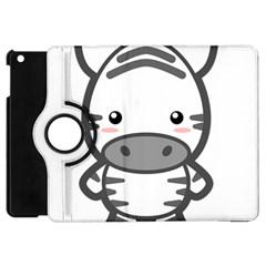 Kawaii Zebra Apple Ipad Mini Flip 360 Case by KawaiiKawaii