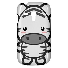 Kawaii Zebra Samsung Galaxy S3 Mini I8190 Hardshell Case by KawaiiKawaii