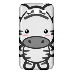 Kawaii Zebra Samsung Galaxy Mega 5 8 I9152 Hardshell Case  by KawaiiKawaii