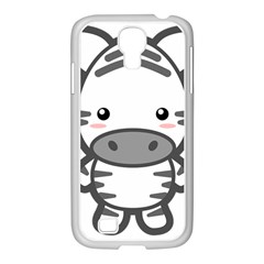 Kawaii Zebra Samsung Galaxy S4 I9500/ I9505 Case (white) by KawaiiKawaii