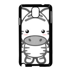 Kawaii Zebra Samsung Galaxy Note 3 Neo Hardshell Case (black) by KawaiiKawaii