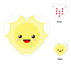 Kawaii Sun Playing Cards (Heart)  by KawaiiKawaii
