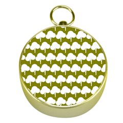 Tree Illustration Gifts Gold Compasses by creativemom