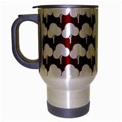 Tree Illustration Gifts Travel Mug (silver Gray) by creativemom
