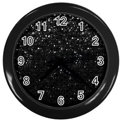 Crystal Bling Strass G283 Wall Clocks (black)