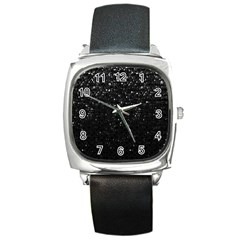 Crystal Bling Strass G283 Square Metal Watches by MedusArt