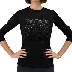 Crystal Bling Strass G283 Women s Long Sleeve Dark T Shirts by MedusArt