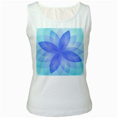 Abstract Lotus Flower 1 Women s Tank Tops by MedusArt