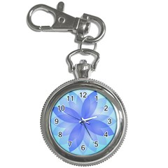 Abstract Lotus Flower 1 Key Chain Watches by MedusArt
