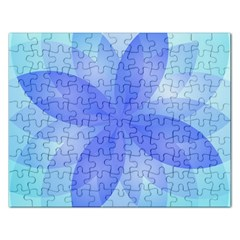 Abstract Lotus Flower 1 Rectangular Jigsaw Puzzl by MedusArt
