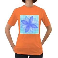 Abstract Lotus Flower 1 Women s Dark T Shirt by MedusArt