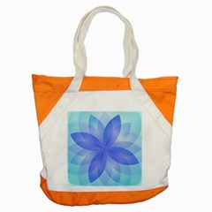 Abstract Lotus Flower 1 Accent Tote Bag  by MedusArt