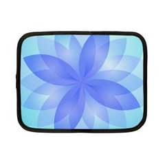 Abstract Lotus Flower 1 Netbook Case (small)  by MedusArt