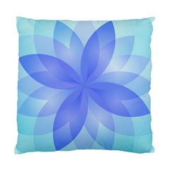 Abstract Lotus Flower 1 Standard Cushion Case (one Side)  by MedusArt