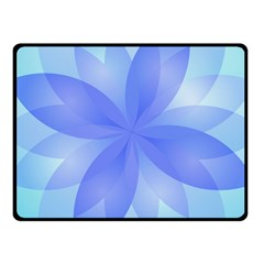 Abstract Lotus Flower 1 Fleece Blanket (small) by MedusArt