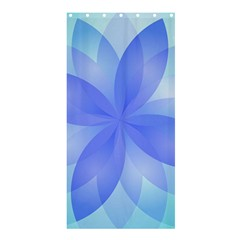 Abstract Lotus Flower 1 Shower Curtain 36  X 72  (stall)  by MedusArt