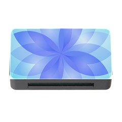 Abstract Lotus Flower 1 Memory Card Reader With Cf by MedusArt