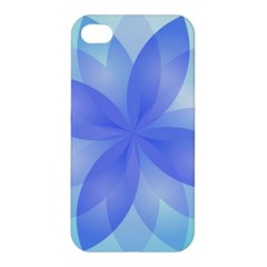 Abstract Lotus Flower 1 Apple Iphone 4/4s Hardshell Case by MedusArt