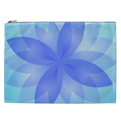 Abstract Lotus Flower 1 Cosmetic Bag (xxl)  by MedusArt
