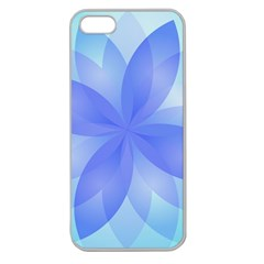 Abstract Lotus Flower 1 Apple Seamless Iphone 5 Case (clear) by MedusArt