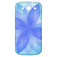 Abstract Lotus Flower 1 Samsung Galaxy S3 S Iii Classic Hardshell Back Case by MedusArt