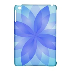 Abstract Lotus Flower 1 Apple Ipad Mini Hardshell Case (compatible With Smart Cover) by MedusArt