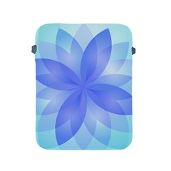 Abstract Lotus Flower 1 Apple Ipad 2/3/4 Protective Soft Cases by MedusArt