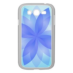 Abstract Lotus Flower 1 Samsung Galaxy Grand Duos I9082 Case (white) by MedusArt