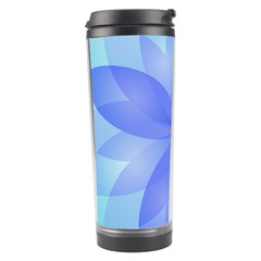 Abstract Lotus Flower 1 Travel Tumblers by MedusArt