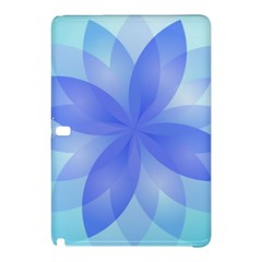 Abstract Lotus Flower 1 Samsung Galaxy Tab Pro 10 1 Hardshell Case by MedusArt