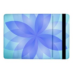 Abstract Lotus Flower 1 Samsung Galaxy Tab Pro 10 1  Flip Case by MedusArt
