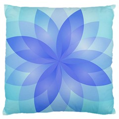 Abstract Lotus Flower 1 Standard Flano Cushion Cases (two Sides)  by MedusArt