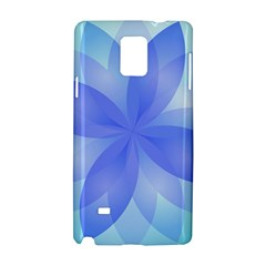 Abstract Lotus Flower 1 Samsung Galaxy Note 4 Hardshell Case by MedusArt
