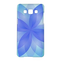 Abstract Lotus Flower 1 Samsung Galaxy A5 Hardshell Case  by MedusArt