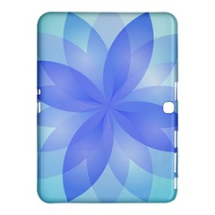 Abstract Lotus Flower 1 Samsung Galaxy Tab 4 (10 1 ) Hardshell Case  by MedusArt