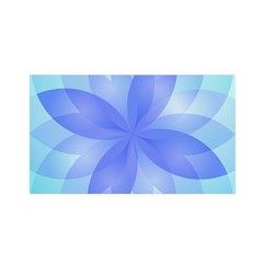 Abstract Lotus Flower 1 Satin Wrap by MedusArt