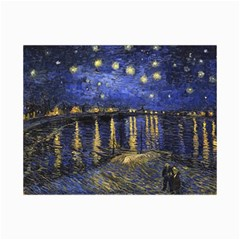 Vincent Van Gogh Starry Night Over The Rhone Collage 12  X 18  by MasterpiecesOfArt