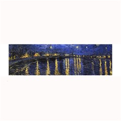 Vincent Van Gogh Starry Night Over The Rhone Large Bar Mats by MasterpiecesOfArt