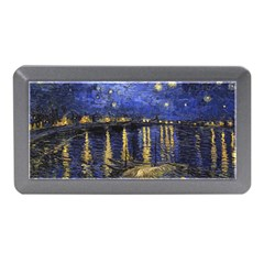 Vincent Van Gogh Starry Night Over The Rhone Memory Card Reader (mini)