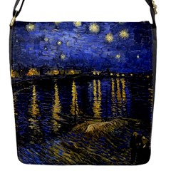 Vincent Van Gogh Starry Night Over The Rhone Flap Covers (s)  by MasterpiecesOfArt