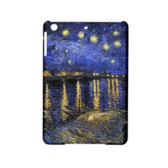 Vincent Van Gogh Starry Night Over The Rhone Ipad Mini 2 Hardshell Cases by MasterpiecesOfArt