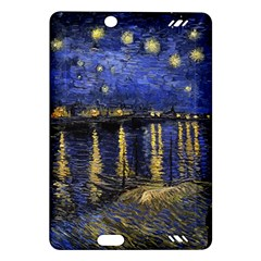 Vincent Van Gogh Starry Night Over The Rhone Kindle Fire Hd (2013) Hardshell Case by MasterpiecesOfArt