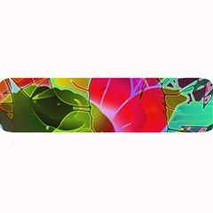 Floral Abstract 1 Large Bar Mats by MedusArt