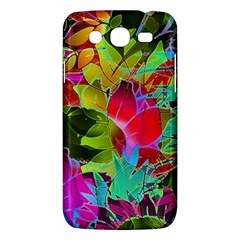Floral Abstract 1 Samsung Galaxy Mega 5 8 I9152 Hardshell Case  by MedusArt