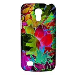 Floral Abstract 1 Galaxy S4 Mini by MedusArt