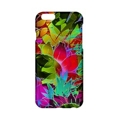 Floral Abstract 1 Apple Iphone 6/6s Hardshell Case by MedusArt